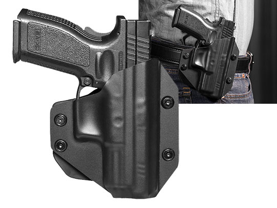 Paddle Holster OWB Carry with XD 4 inch