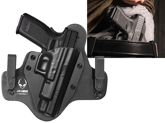 Leather Hybrid Springfield XD 5 inch barrel Holster