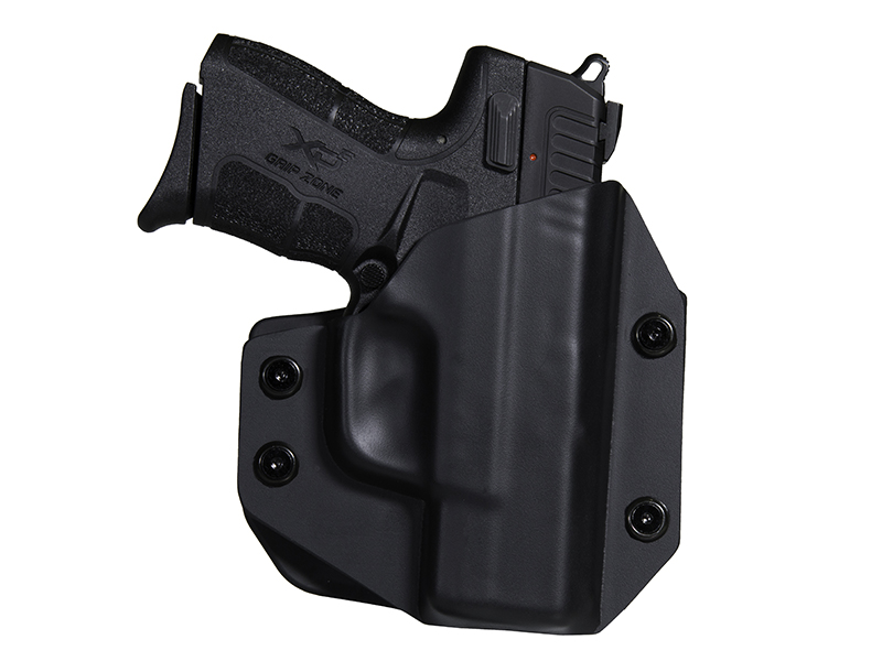 Paddle Holster OWB Carry with Springfield XDE