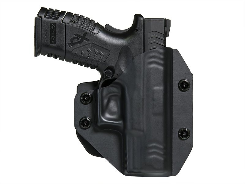 Paddle Holster OWB Carry with XDM 3.8