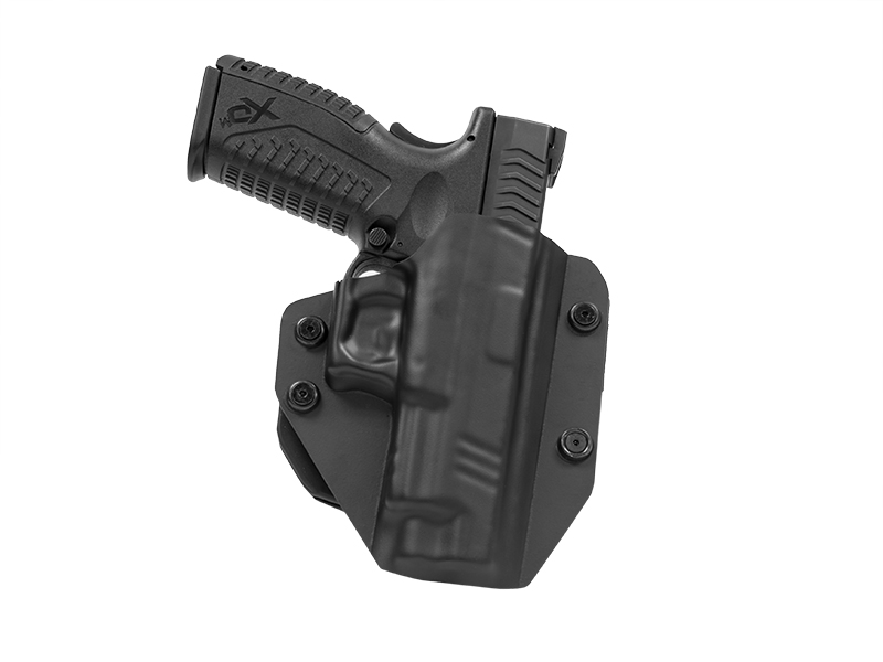 Paddle Holster OWB Carry with XDM 4.5