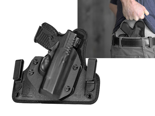concealment holster for springfield xds 33 iwb carry