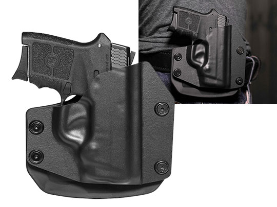 Paddle Holster OWB Carry with the S&W Bodyguard 380 w/ Laser