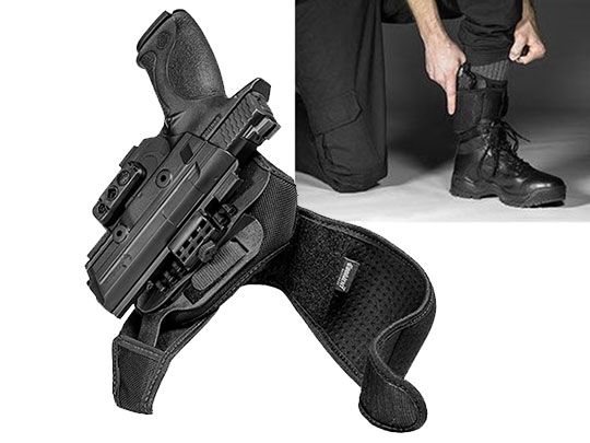 M&P .40 4.25 inch Barrel ShapeShift Ankle Holster