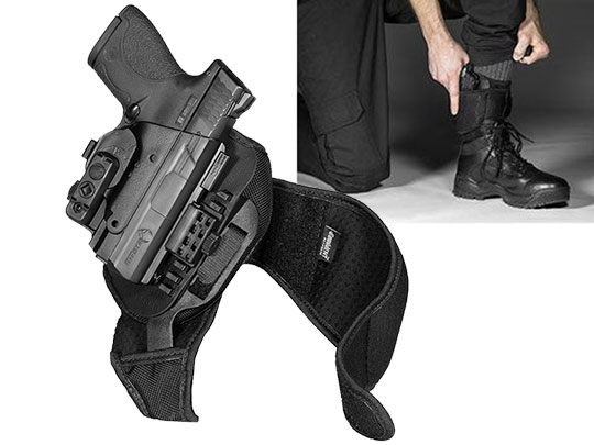 M&P Shield .40 ShapeShift Ankle Holster