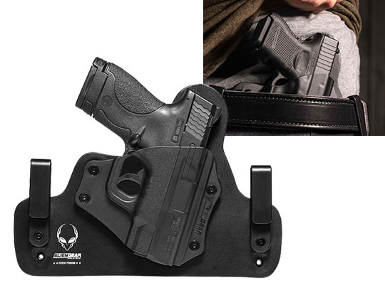 Shield 40 caliber Hybrid IWB holster