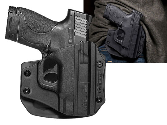 Paddle Holster OWB Carry with Shield 40 caliber