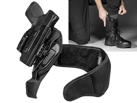M&P Shield .45 ShapeShift Ankle Holster