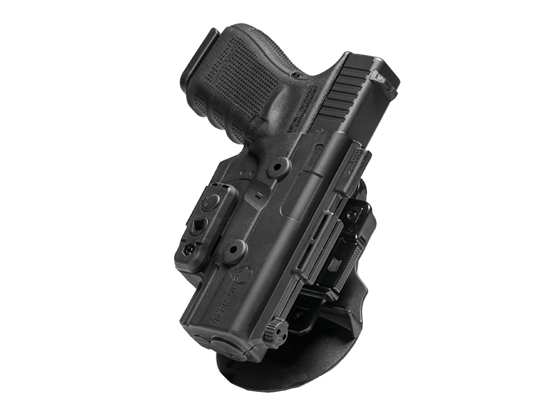 S&W M&P40c Compact 3.5 inch barrel ShapeShift OWB Paddle Holster