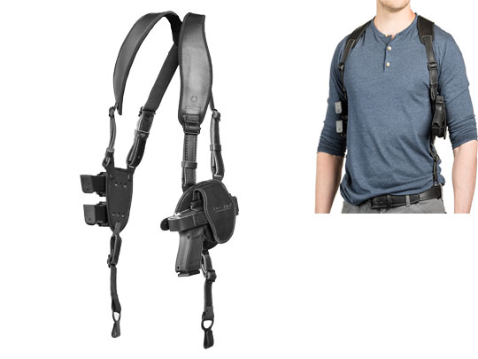 S&W M&P40c Compact 3.5 inch barrel shoulder holster for shapeshift platform