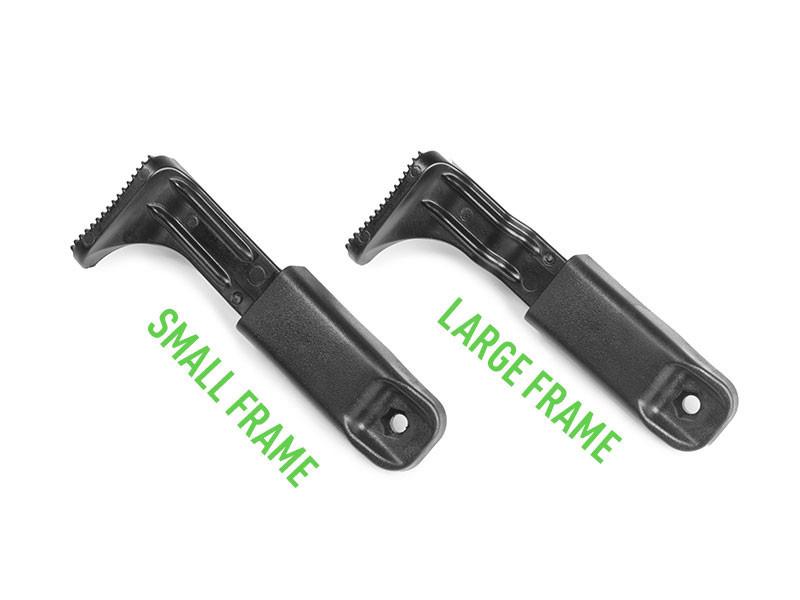 thumb release for shapeshift modular holster system
