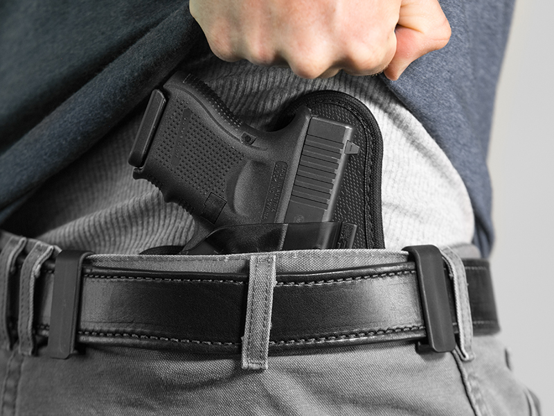 wearing the glock 26 shapeshift iwb holster