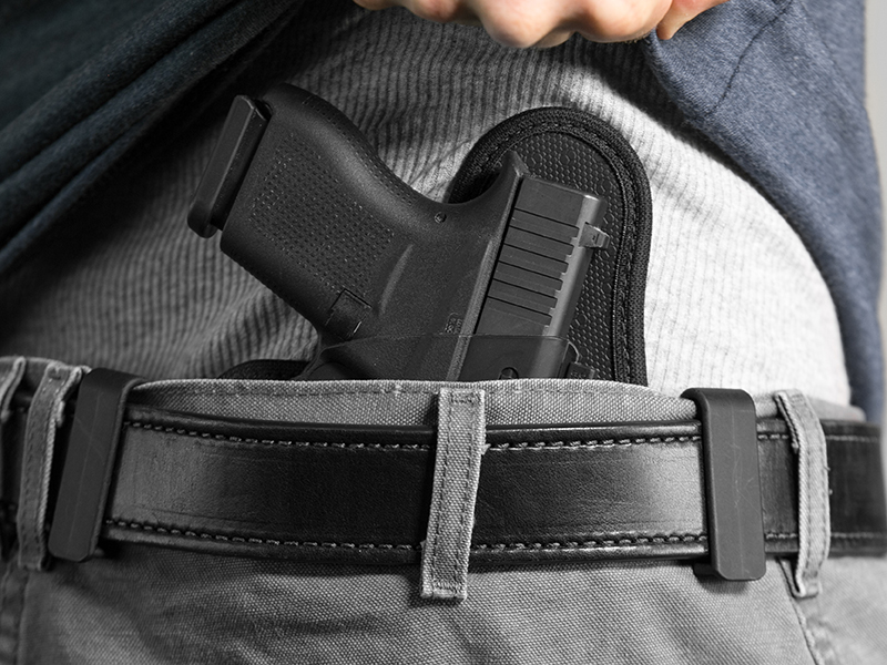 how to wear the glock 43 iwb holster