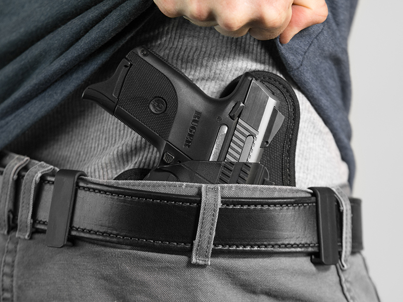how to wear the sr9c iwb holster