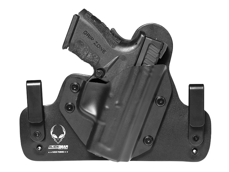Leather Hybrid Springfield XD Mod.2 Subcompact 45ACP 3.3 inch Holster