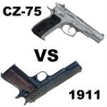cz-75 vs 1911