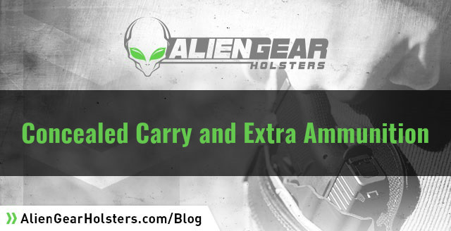 carrying extra ammunition and its importance