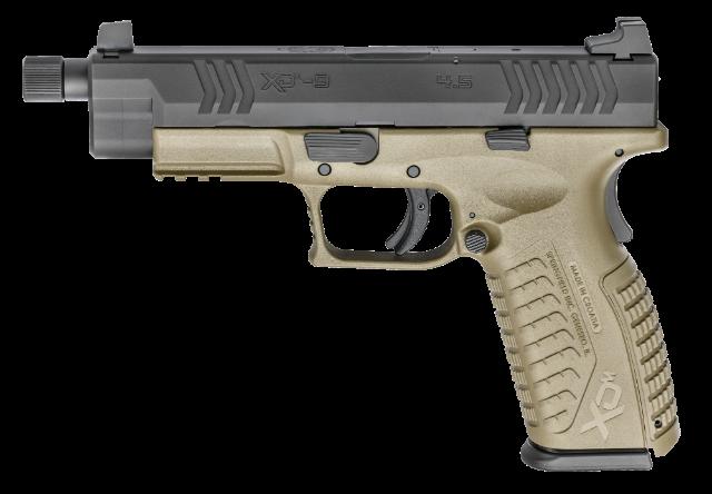 Springfield XDM 4.5 inch with threaded barrel