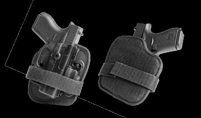 adhesive velcro holster