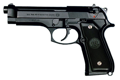 Concealed Carry Specs of Beretta M9