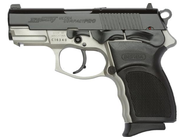 the bersa thunder .45 pro ultra compact