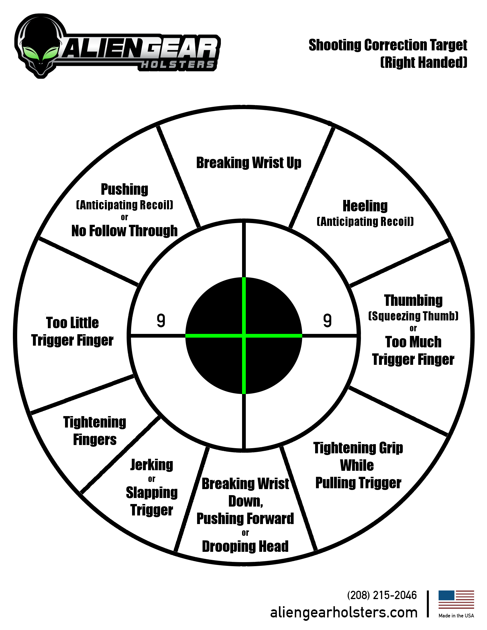 This is a graphic of Bright Free Rifle Targets