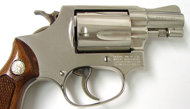 Reagan carried a .38 Special snub-nosed revolver for most of his life