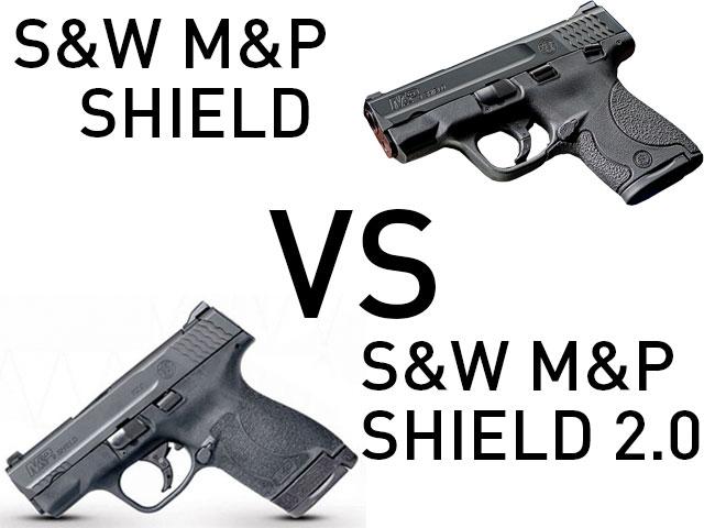 S&W M&P Shield M2.0 vs S&W M&P Shield