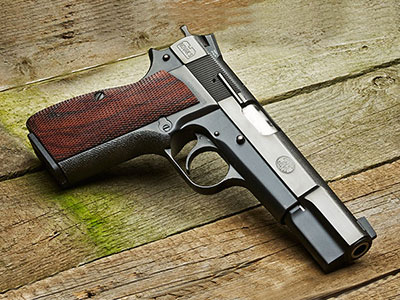 Browning's Hi Power for Concealed Carry