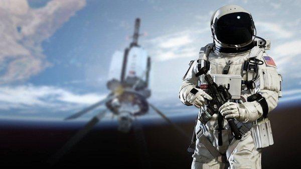 Firing a gun in space