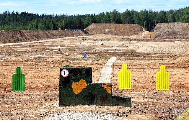 gun range training