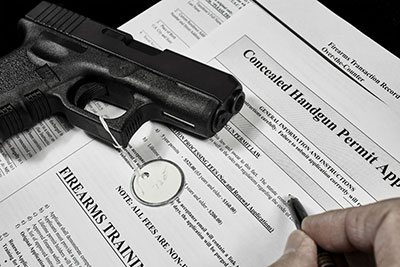Apply for your concealed carry weapon's license