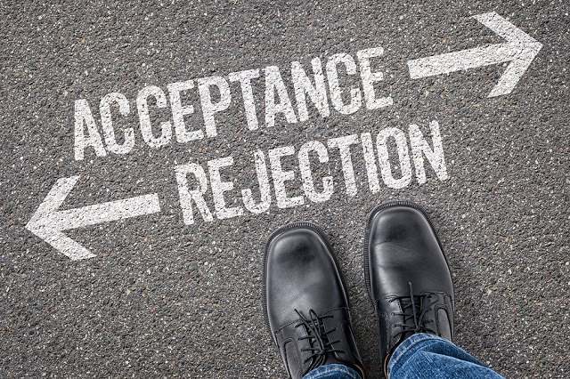 acceptance or rejection for concealed carry in the workplace