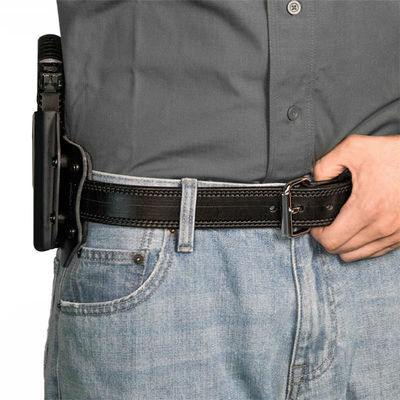 High riding and close to the body Cloak Slide holster