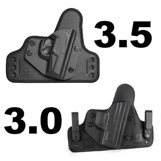 How The Cloak Tuck 3 5 Iwb Holster Improves The Cloak Tuck 3 0 Alien Gear Holsters Blog