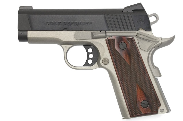 colt defender in 45 acp