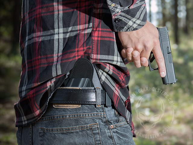 most comfortable gun holster