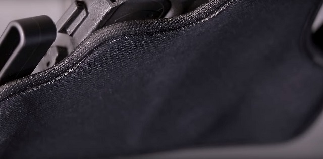 Perforated neoprene on the new ShapeShift AIWB and IWB holsters for comfort