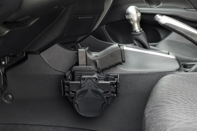 car holster mount