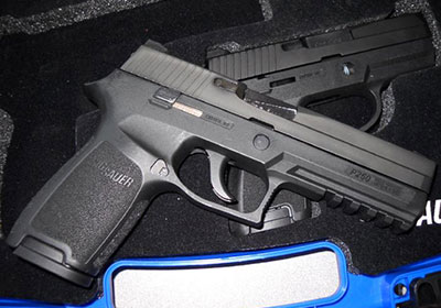Carry concealed with the Sig P250