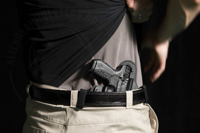 concealed carry holster position