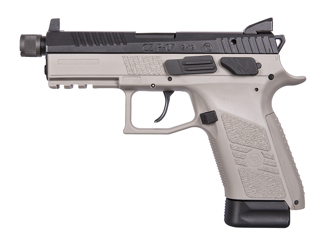 CZ P-07 Urban Grey Suppressor Ready