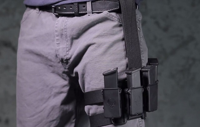 Mag Carrier variant of the Tactical Drop Thigh holster