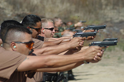 The first step in concealed carry is getting the training