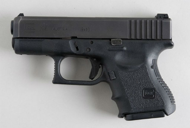 glock 43 and glock 26 dimensions