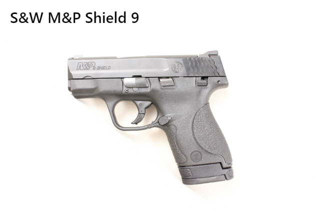 It is a S&W M&P Shield 9mm