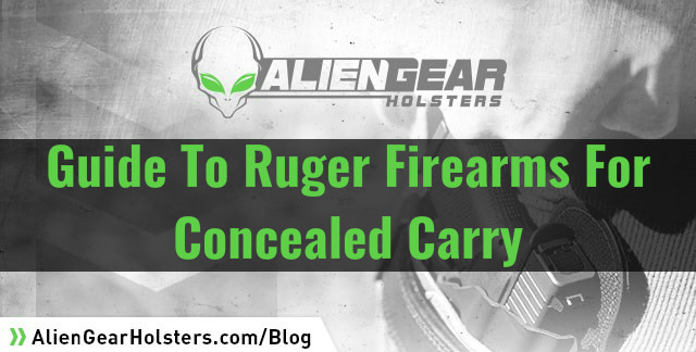 ruger firearms guide
