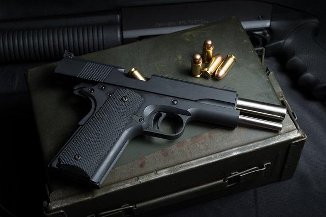 45 pistol