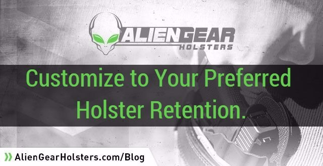 holster retention adjustments for everyday carry