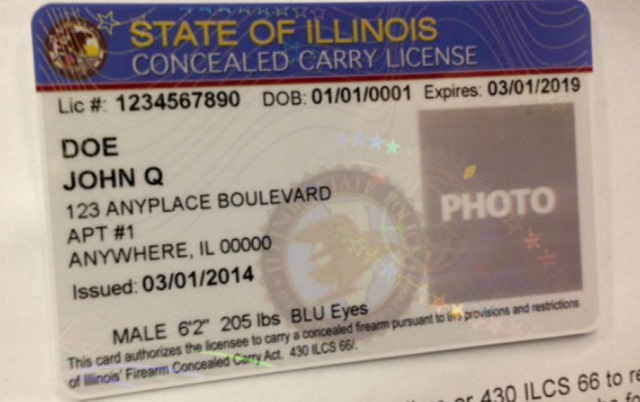Illinois firearm owners identification card